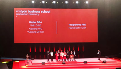2019 emlyon Global DBA Graduation Ceremony in France!