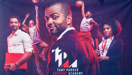 NBA Superstar Tony Parker Launches Strategic cooperation with emlyon business school
