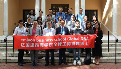 12 periods of emlyon Global DBA's academic trip to the U.S.